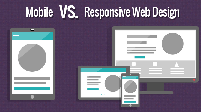 A Concise Guide to Choosing Between Mobile vs. Responsive Web Design